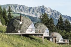 Go Eco-Friendly Glamping in These Geodesic Domes in the Swiss Alps - Photo 1 of 11 - Dwell