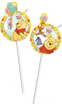Lot de 6 Pailles Winnie L'Ourson™ - Disney™