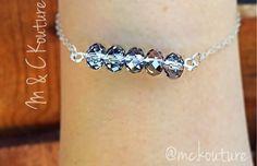 .925 silver filled bracelet, dainty jewelry, sparkly jewelry, stackable bracelet, MCKouture jewelry, hot item, good quality, dainty