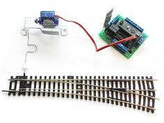 Use Arduino to create railway layout and control trains