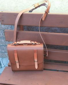 """If youre looking to blend in or go unnoticed definitely do NOT get the Satchel Backpack  This bag is sure to get lots of Oohs"""" Aahs and """"Hey where did you get that!?s""""  #Satchel #LeatherBag #PurchaseWithPurpose #EthicalFashion #Love41"""