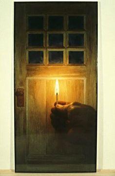 Michael Snow, Door, 1979, color photograph.