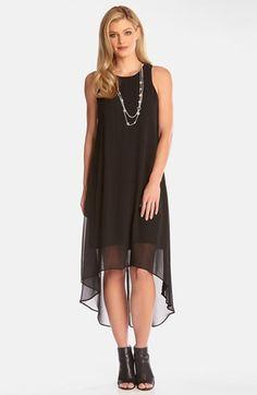 Karen Kane Sheer High/Low Maxi Dress available at #Nordstrom
