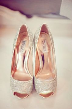 Lovely wedding shoes