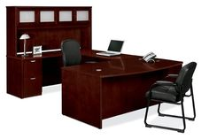 Article describing the features of veneer and laminate office furniture