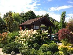 Garten mit Japanischem Teehaus