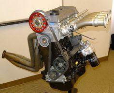 vw rabbit 1.7l racing motor | ... stroker VW 16V ABA-ABF/9A motor, Quaife transmission differential