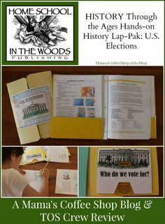 {Product Review} U.S. Elections and Home School in the Woods @hsinthewoods  @toshscrew #history #homeschool #review