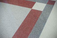 Seamless Epoxy Terrazzo Floor Design installed by Doyle Dickerson Terrazzo www.doyledickersonterrazzo.com