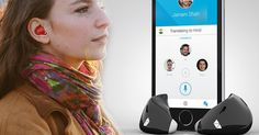 Waverly Labs has developed the world's first language-translating earpiece called the Pilot.