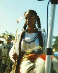 Beautiful Native American Black indian Apache~~