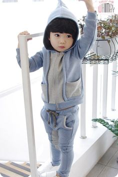 Cone Hoodie Set for boys 2-6. Cool kids fashion, play ready style.