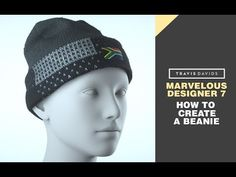 (10) Marvelous Designer 7 - How To Create A Beanie - YouTube