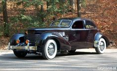 1937 Cord 812 Supercharged Beverly Sedan