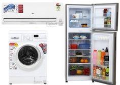 Flipkart Holi AC, Washing Machines,Refrigerators Sale Offer
