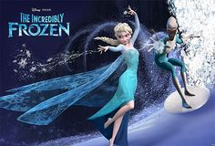 The Incredibly Frozen featuring Elsa and Frozone