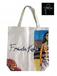 Vanepa's Frida Kahlo Tote Bag Designed by Vanessa Partida