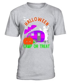 "# Halloween Camp Or Treat Camping RV Trailer T-Shirt .  Special Offer, not available in shops      Comes in a variety of styles and colours      Buy yours now before it is too late!      Secured payment via Visa / Mastercard / Amex / PayPal      How to place an order            Choose the model from the drop-down menu      Click on ""Buy it now""      Choose the size and the quantity      Add your delivery address and bank details      And that's it!      Tags: Going camping on Halloween? This…"