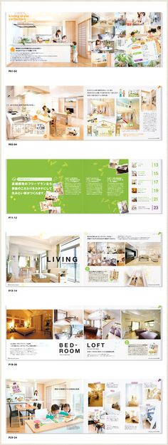 Living style collection見開き