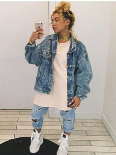 Tatys outfit to dress fitting Tomboy Fashion, Tomboy Outfits, Chill Outfits, Black Girl Fashion, Dope Outfits, Swag Outfits, Fashion Killa, Streetwear Fashion, 90s Fashion