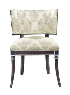 """Gabrielle Side Chair from the Atelier collection by Hickory Chair Furniture Co. 32.5""""h x 22.75""""w x 23.5""""d #drdchairs klismos"""
