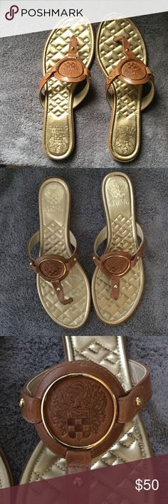 Vince Camuto Sandals, Size 10M Vince Camuto Sandals, Size 10M, Small marks on Leather, hardly noticeable, see picture 3 Vince Camuto Shoes Sandals