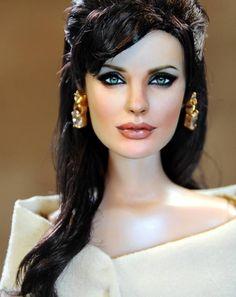 Angelina Jolie doll by Noel Cruz