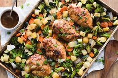 Chicken Teriyaki Sheet Pan |  Healthy Little Peach