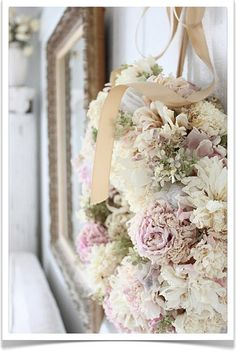 WOW: love the pastel colors  {décor inspiration : pale and pretty for the holidays} by {this is glamorous}, via Flickr