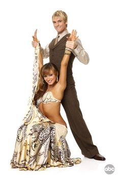 Aaron Carter & Karina Smirnoff - Season 9    Aaron and I.. CELEBRITY STYLE!! LOL