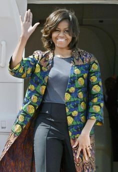 20march2015---first lady michelle obama arriving in kyoto, japan