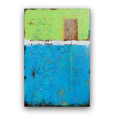 Original Abstract Painting 24x36 by Vinita on Etsy, $400.00