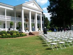 Alabama Wedding Venue called Winston Place.  Beautiful historical mansion. | Estate Weddings and Events