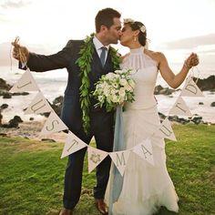 Just Maui'd Beauty - Anna Kim Photography - bouquet and floral crown by Teresa Sena Design
