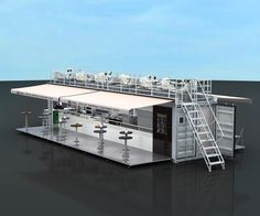 ... container coffee bar | Container restaurant | Shipping container homes