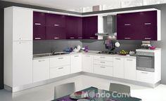 Cucina grigia e bianca: una scelta di stile | Kitchen decor ...