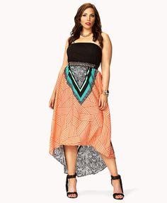 fashion | Vestidos largos de verano para gorditas Forever21