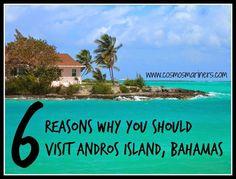 6 Reasons Why You Should Visit Andros Island, Bahamas