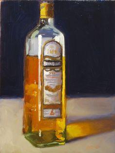 whiskey bottle - Dan Graziano www.dangrazianofineart.com