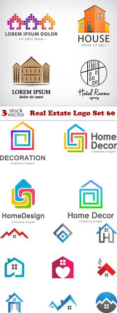 Vectors - Real Estate Logo Set 60