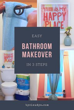 Easy Bathroom Makeov