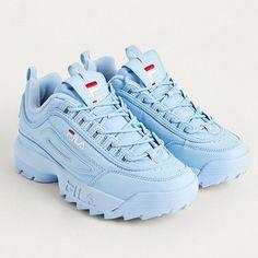 Womens Sneakers – High Fashion For Women Cute Sneakers, Sneakers Mode, Baby Sneakers, Sneakers Fashion, Fashion Shoes, Shoes Sneakers, Baby Blue Aesthetic, Aesthetic Shoes, Baby Blue Shoes