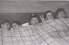 Young NKOTB goofing off