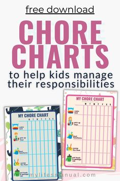 Want to get your kids to do chores? Use our free kid's chore chart to encourage them to finish their daily responsibilities. Pretty Chore printables will make it more fun and enjoyable for kids to do chores because they will be able to keep track of their progress on their own. Click to download for free Chore Chart Kids, Chore Charts, Age Appropriate Chores, Chore List, Charts For Kids, How To Make Bed, More Fun, No Response, Encouragement