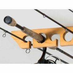 Fishing Pole Garage Organizer