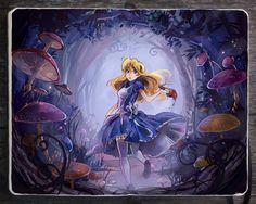 Lost in Wonderland                                          by Picolo-kun