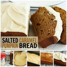 salted caramel frosting awesome fall cake recipe see more salted ...