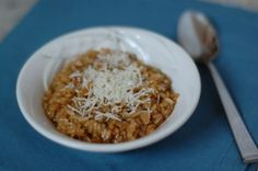 Recipe: Brown Rice Risotto - 100 Days of Real Food