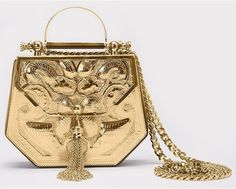 @okhtein brings Egyptian luxury to the #LFW Designer Showrooms with their new line of artisan bags incorporating artisan embroidery into handcrafted leatherwork and metal.