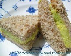 7 sandwich fillings for babies.. some great ideas!